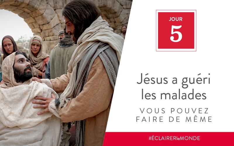 Jésus a guéri les malades, vous pouvez faire de même