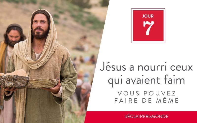 Jésus a nourri ceux qui avaient faim, vous pouvez faire de même