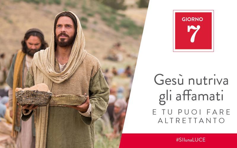 Gesù nutriva gli affamati e tu puoi fare altrettanto