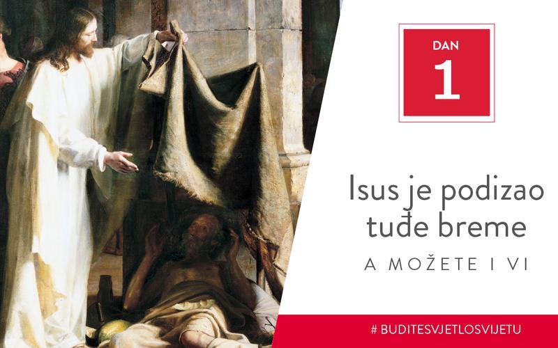 Isus je podizao tuđe breme, a možete i vi
