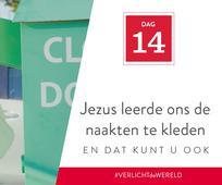 Dag 14 - Jezus was nederig en dat kunt u ook zijn