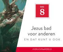 Dag 8 - Jezus bad voor anderen en dat kunt u ook
