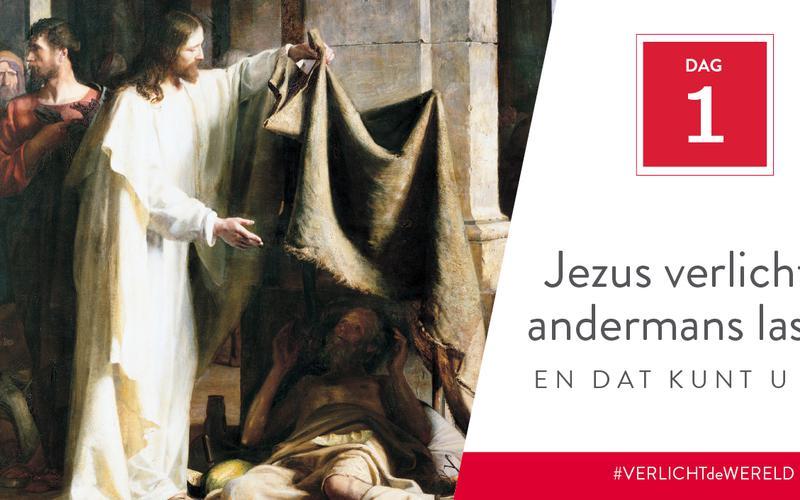 Jezus verlichtte andermans lasten en dat kunt u ook