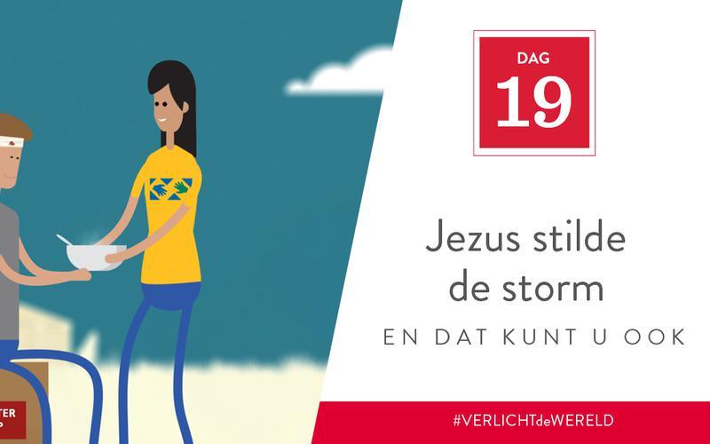 Jezus stilde de storm en dat kunt u ook