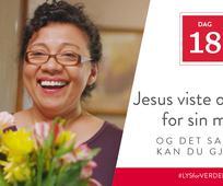 Dag 18 - Jesus viste omsorg for sin mor, og det samme kan du gjøre
