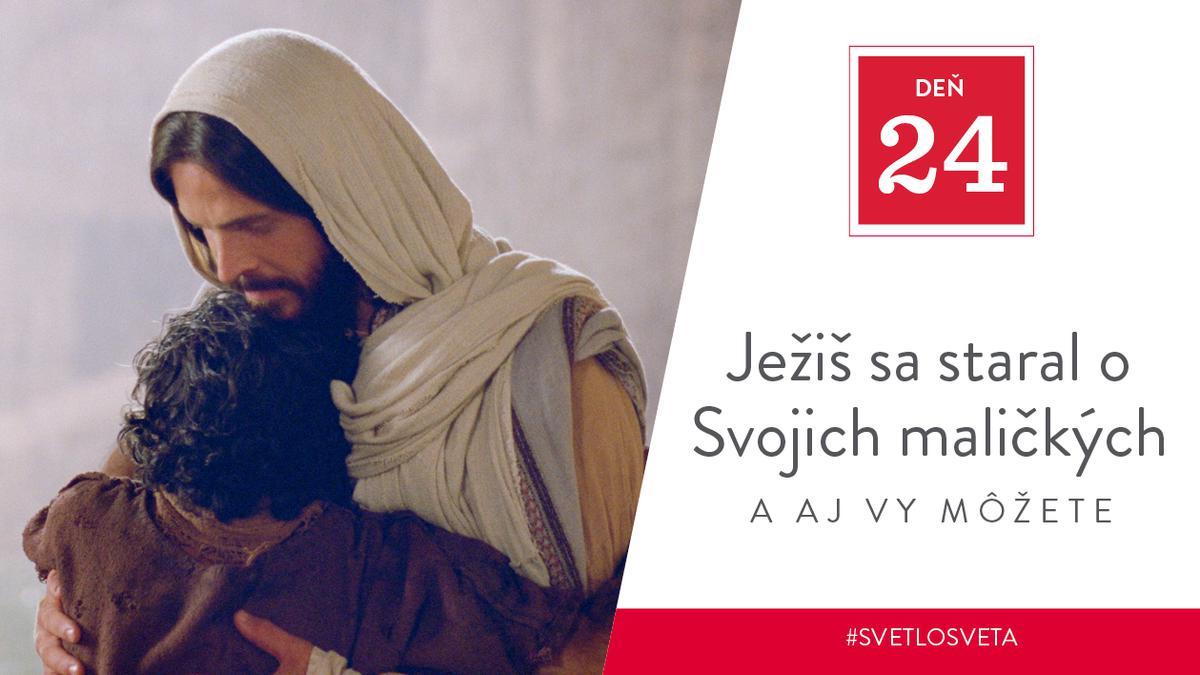 Ježiš sa staral o Svojich maličkých, a aj vy môžete