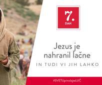 7. Dan - Jezus je nahranil lačne in tudi vi jih lahko