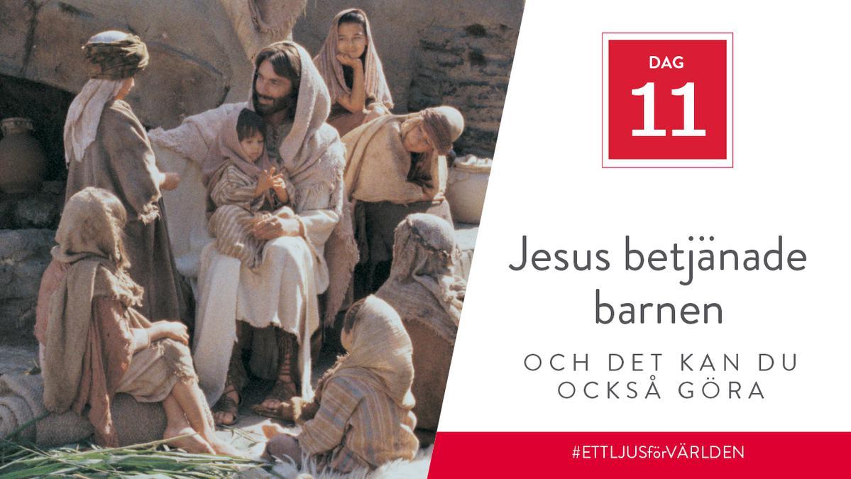Jesus betjänade barnen och det kan du också göra