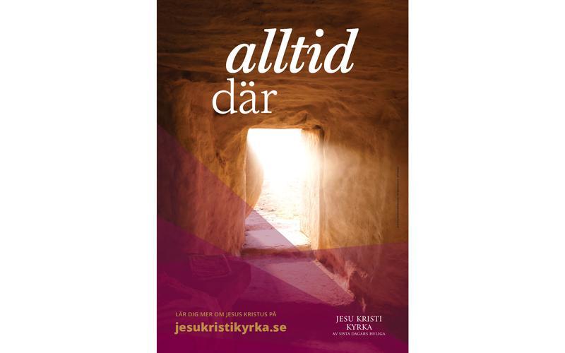 Ett påskbudskap: Jesus Kristus är alltid där för dig