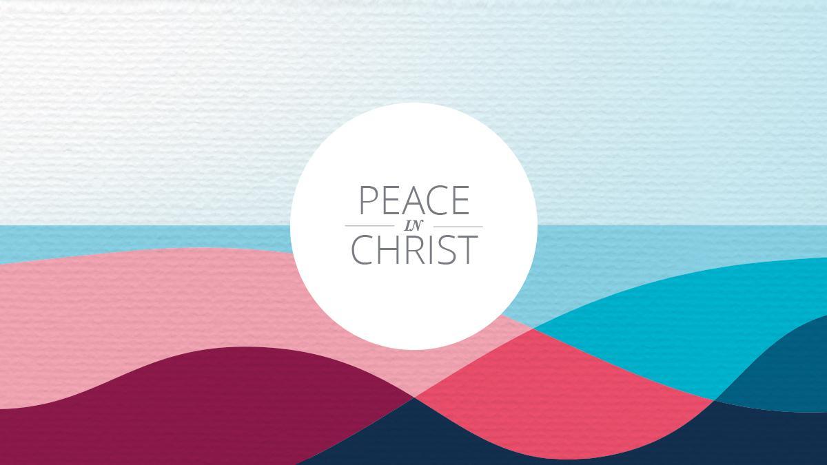 A 2018. évi Közös tevékenység mottója: Békesség Krisztusban