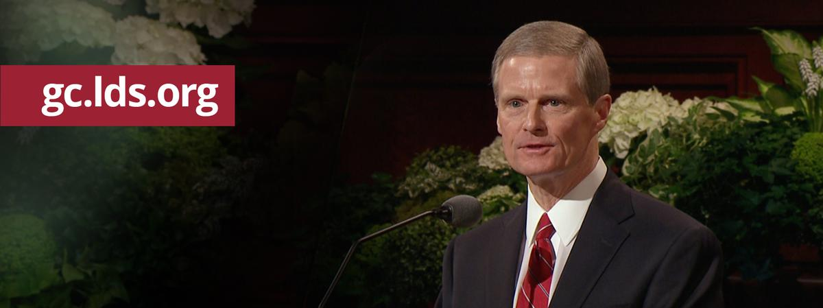 Elder David A. Bednar vom Kollegium der Zwölf Apostel