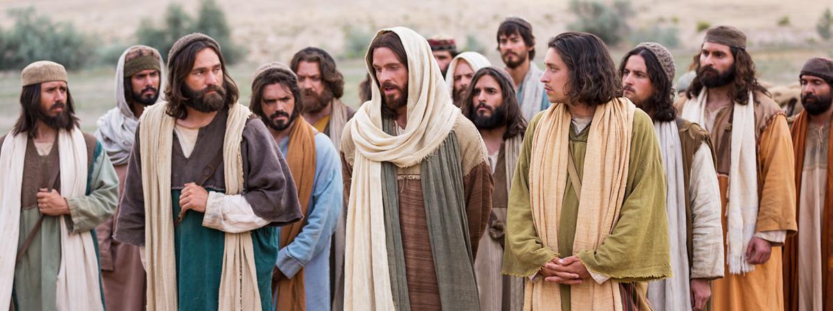 Jesus Christus führte die Kirche gemeinsam mit seinen Aposteln