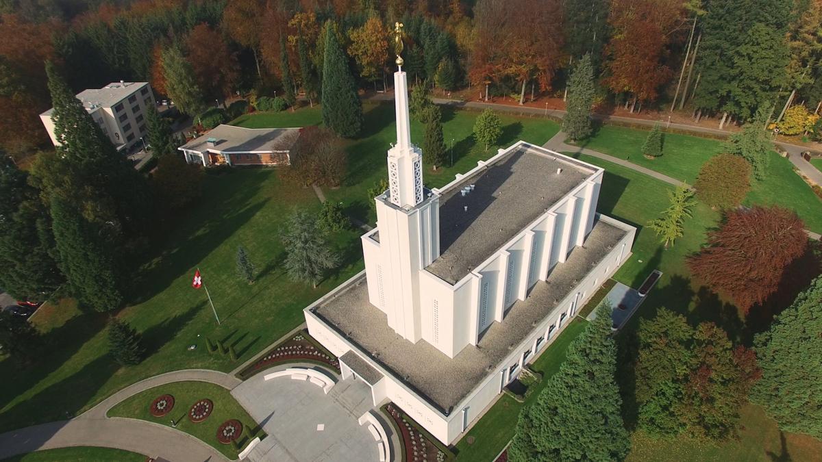 Tempel in derSchweiz