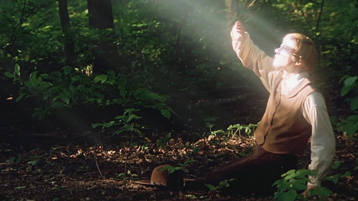 Joseph Smith sah als Vierzehnjähriger Gott Vater und Jesus Christus.