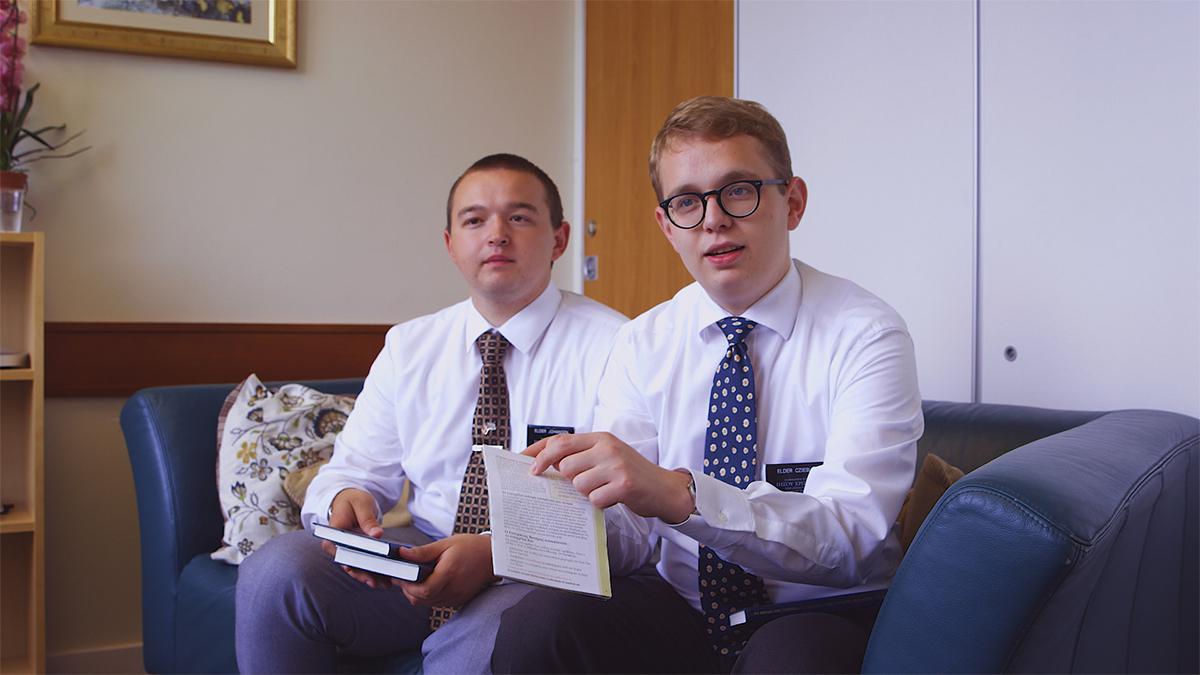 Eldster på misjonæropplæringssenteret i England