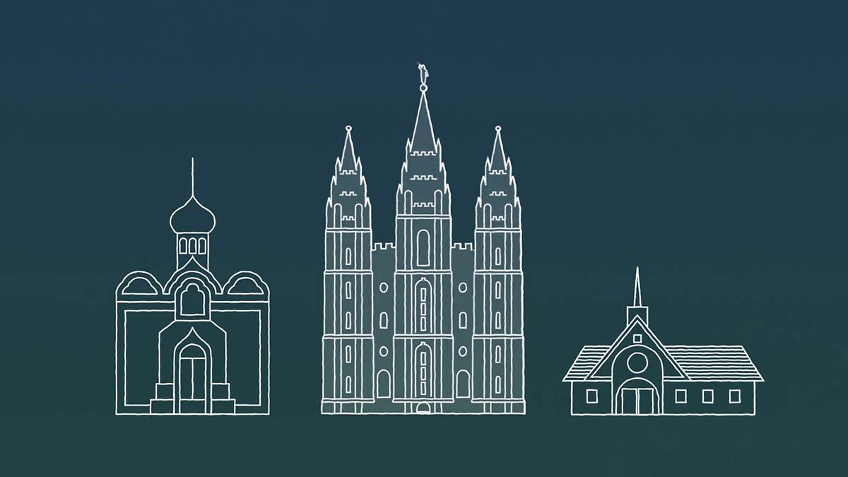 mormonské chrámy