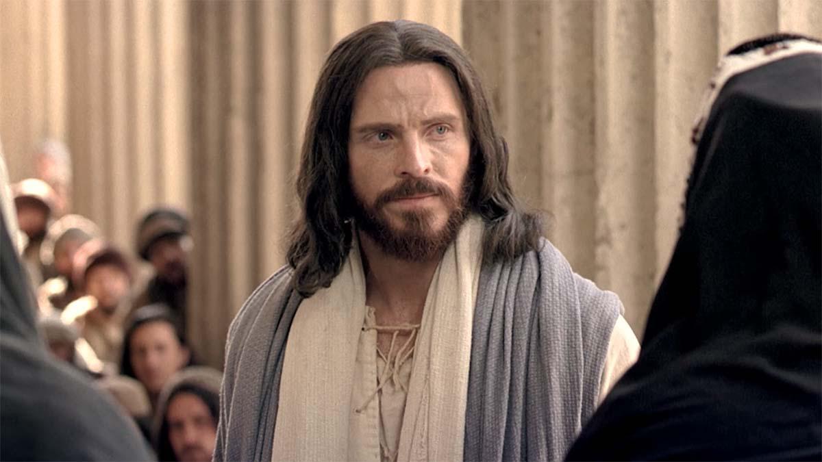 Jezus Chrystus łaja faryzeuszy.