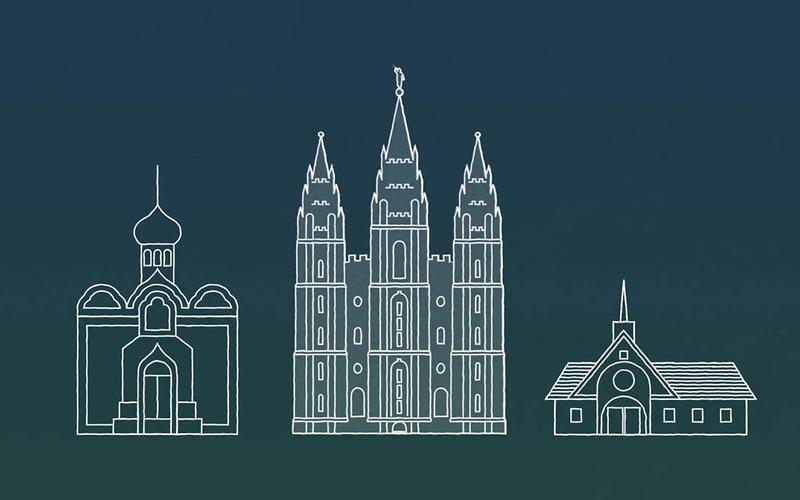 Mormon templomok