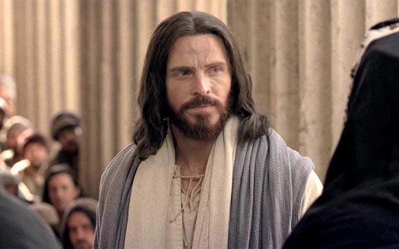 Jesus Christus rügt Pharisäer
