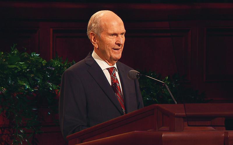 President Nelson vitner om Kristus