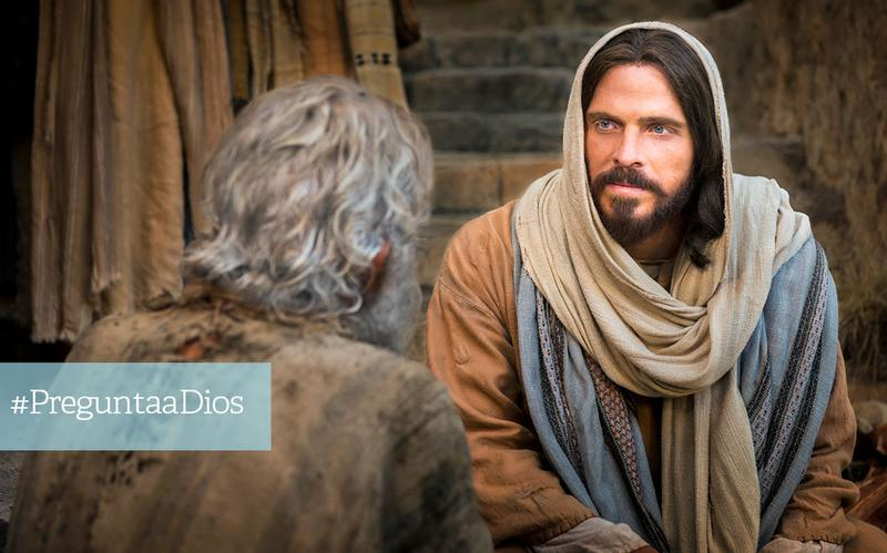 Jesús habla con un anciano