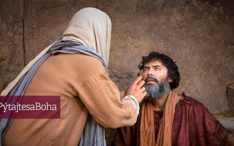 Ježiš uzdravuje slepca