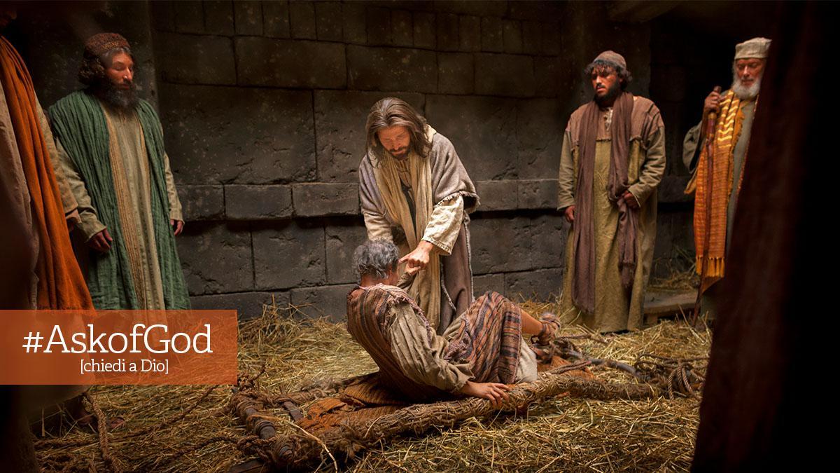 Gesù Cristo performa miracoli