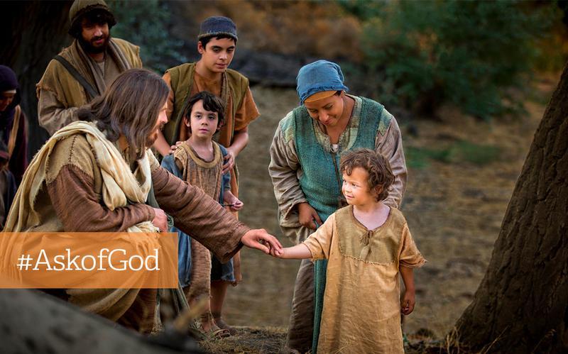 Frag Gott: Wie kann ich glücklich werden?