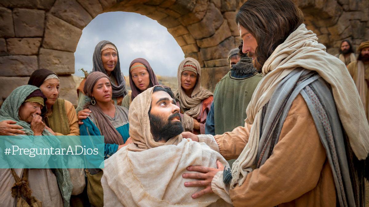 Cristo sanando a un enfermo