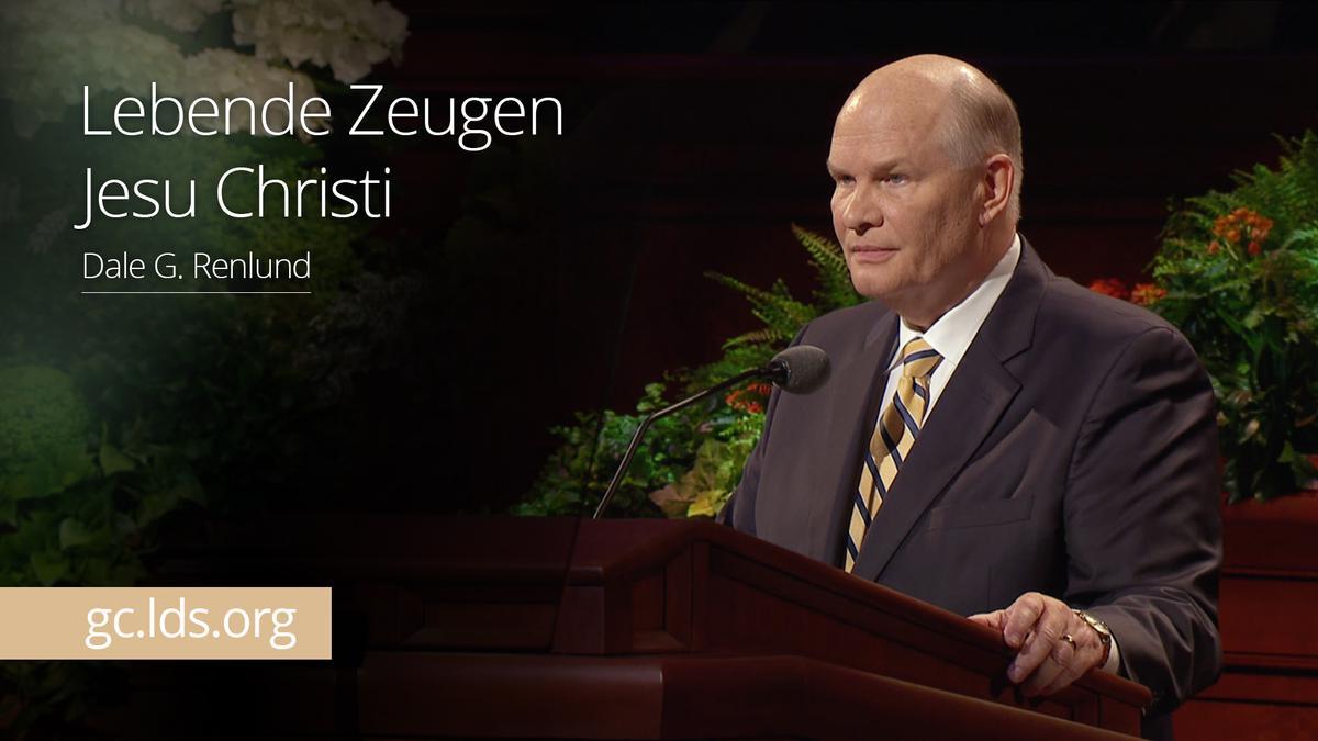 Lebende Zeugen Jesu Christi: Elder Renlund