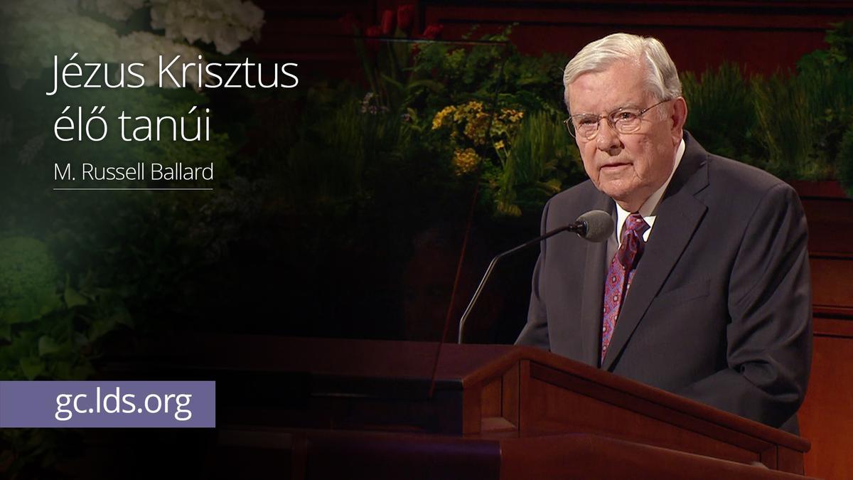 Jézus Krisztus élő tanúi – Ballard elder