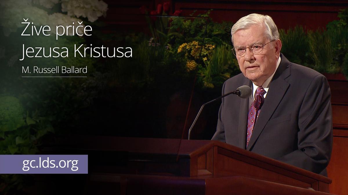 Žive priče Jezusa Kristusa - starešina Ballard