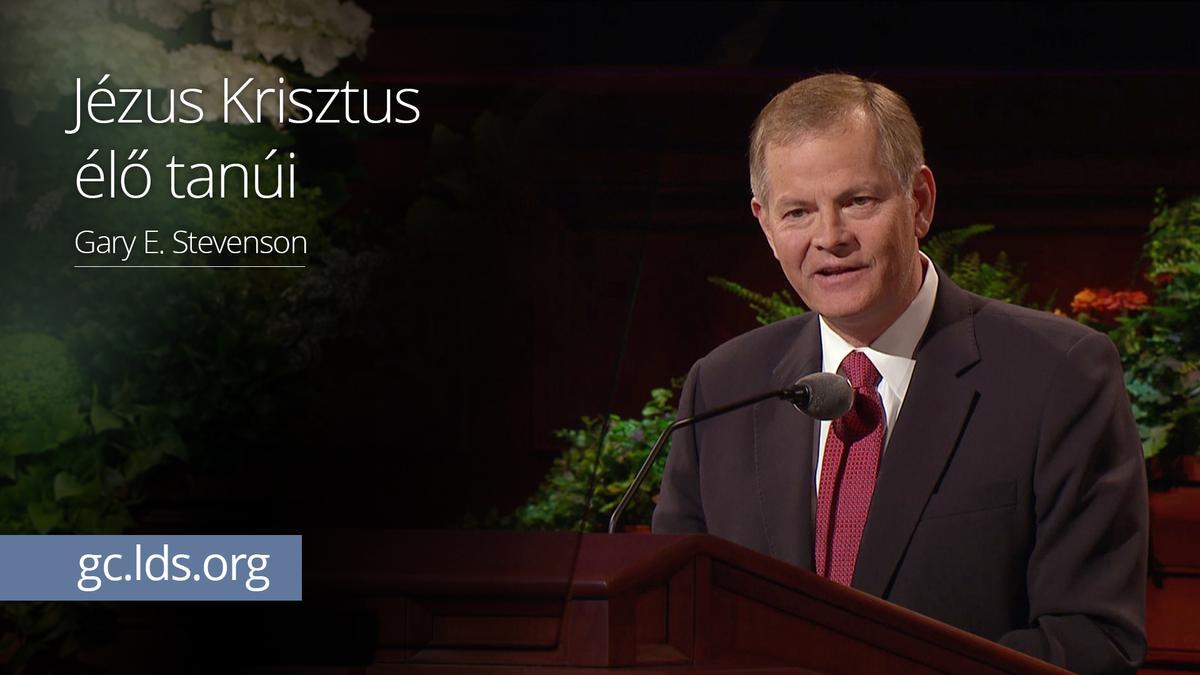 Jézus Krisztus élő tanúi – Stevenson elder