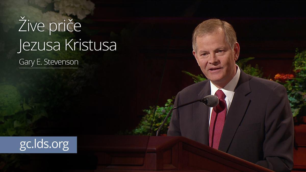 Žive priče Jezusa Kristusa - starešina Stevenson
