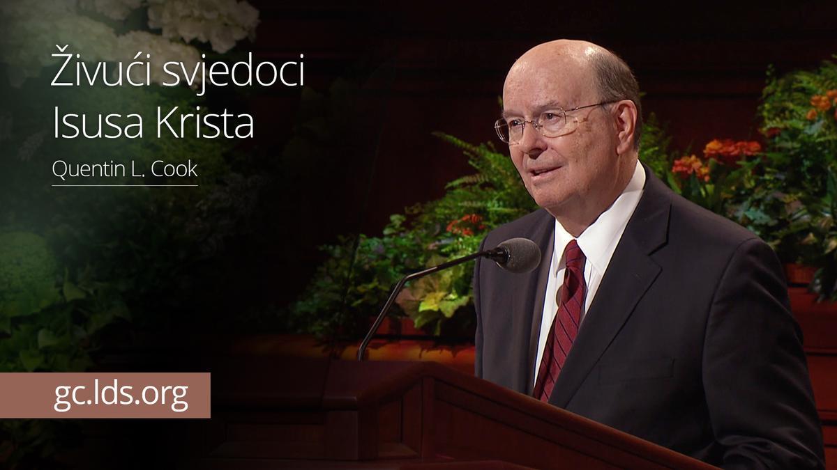 Živući svjedoci Isusa Krista – starješina Cook