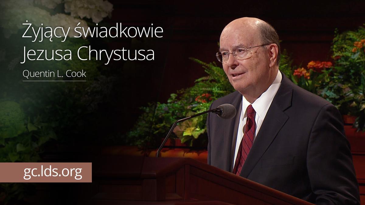 Żyjący świadkowie Jezusa Chrystusa – Starszy Cook