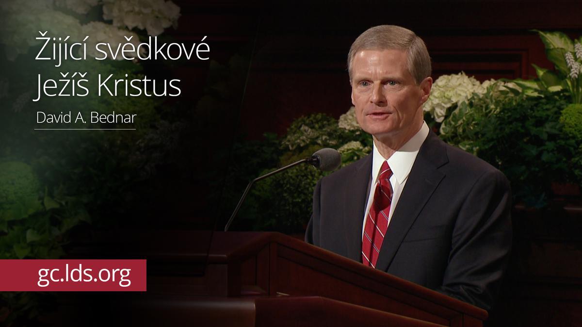 Žijící svědkové Ježíše Krista – starší Bednar