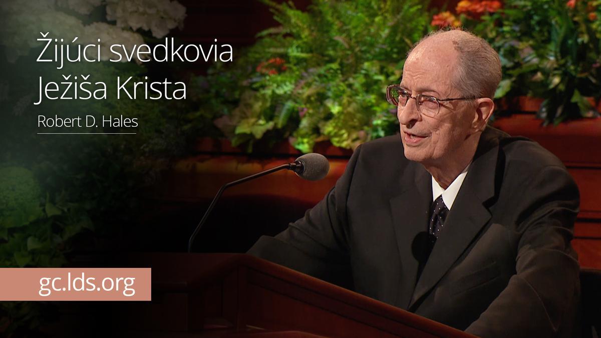 Žijúci svedkovia Ježiša Krista – Starší Hales