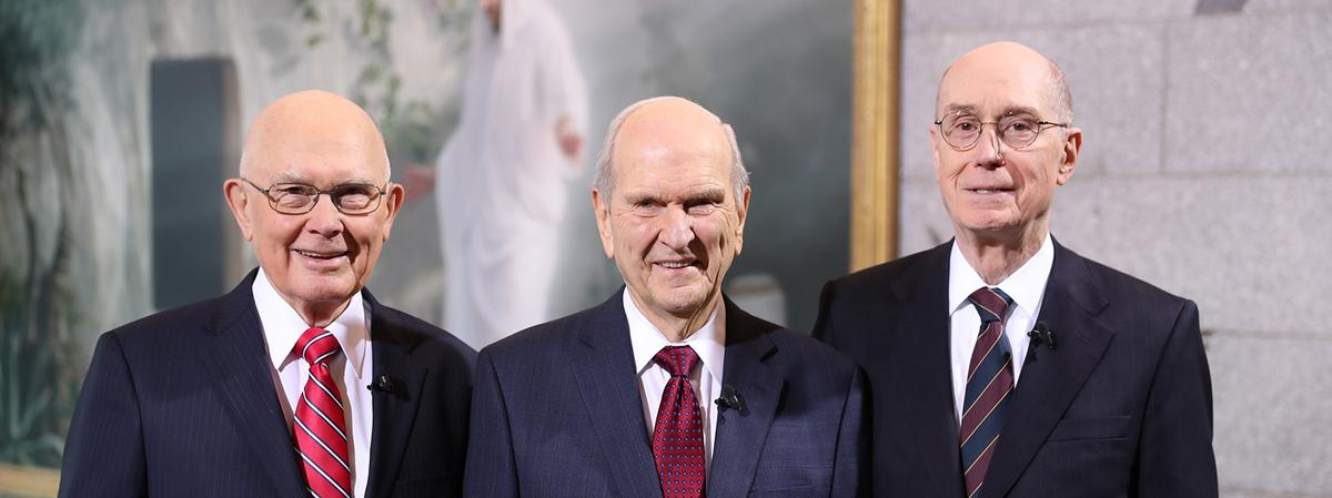 The First Presidency in 2018