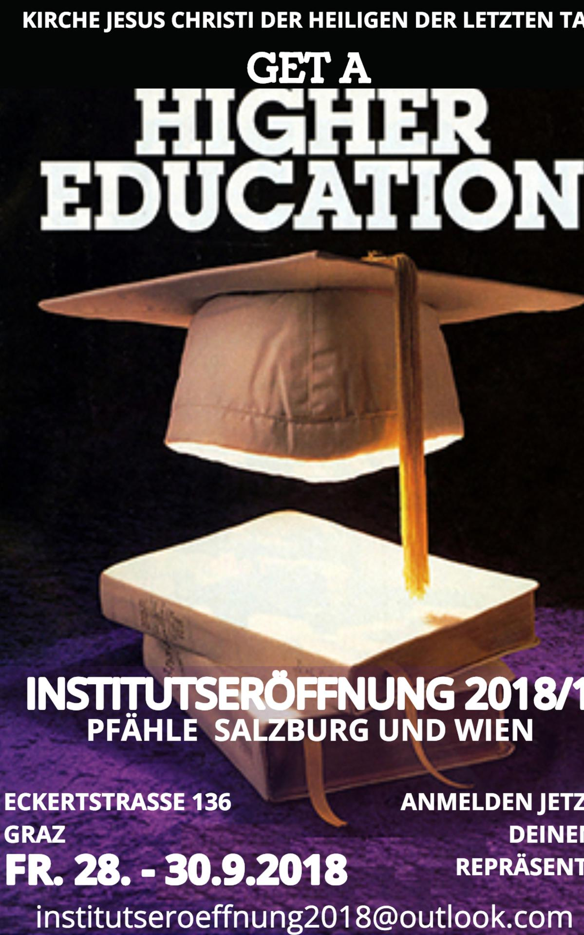Einladung zur Institutseröffnung vorn