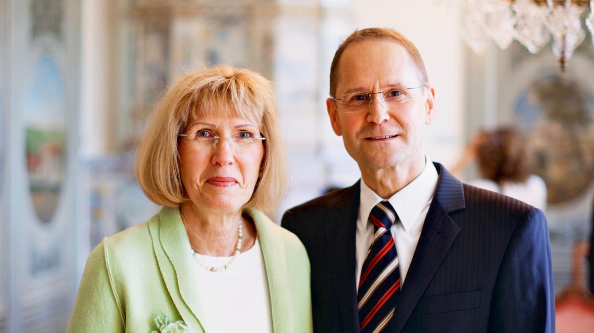 Elder Pilz und seine Frau Karin