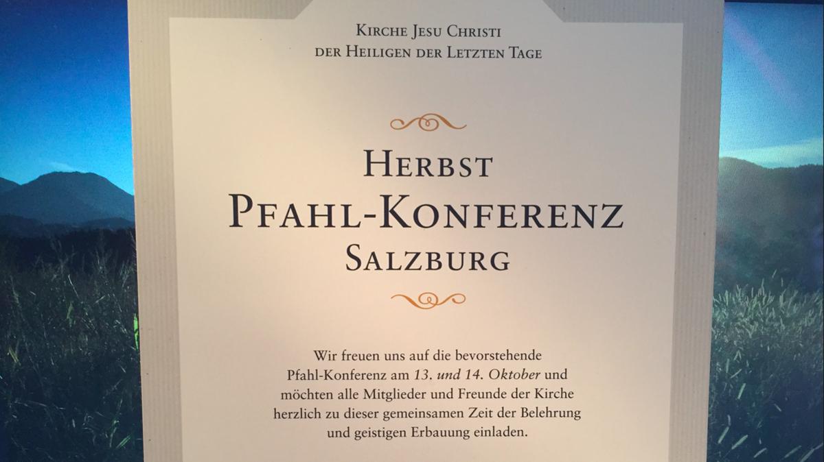 Herbstkonferenz 2018 des Pfahles Salzburg