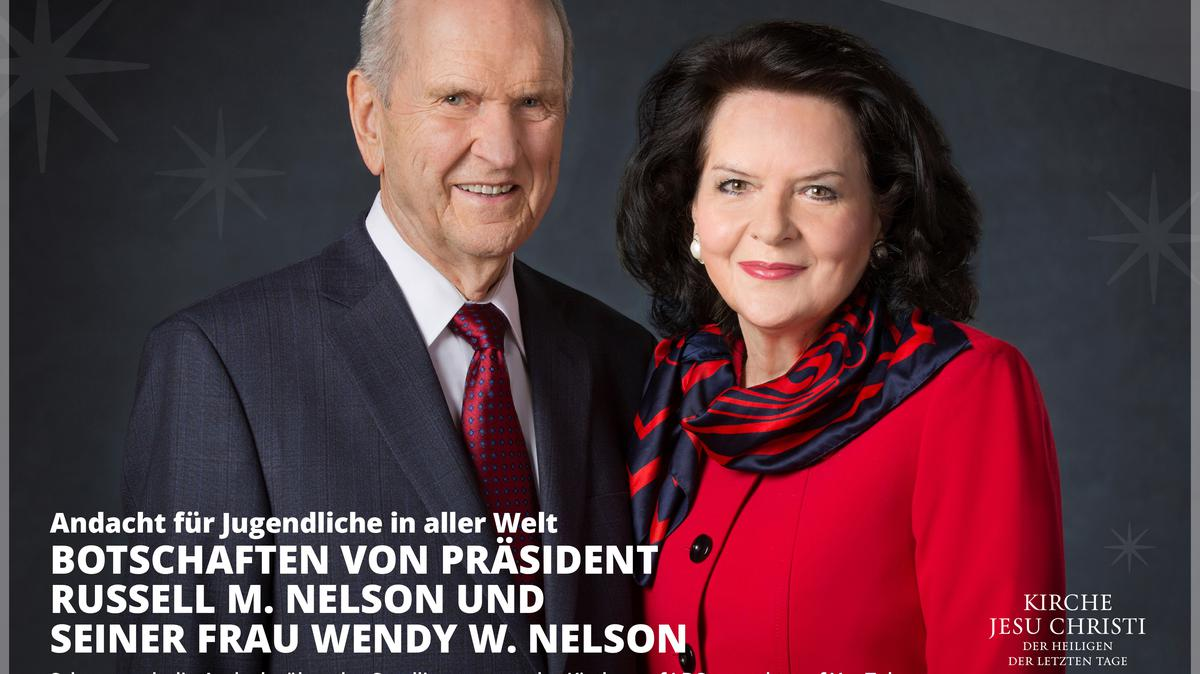 Präsident Russel M. Nelson und Sister Wendy Nelson