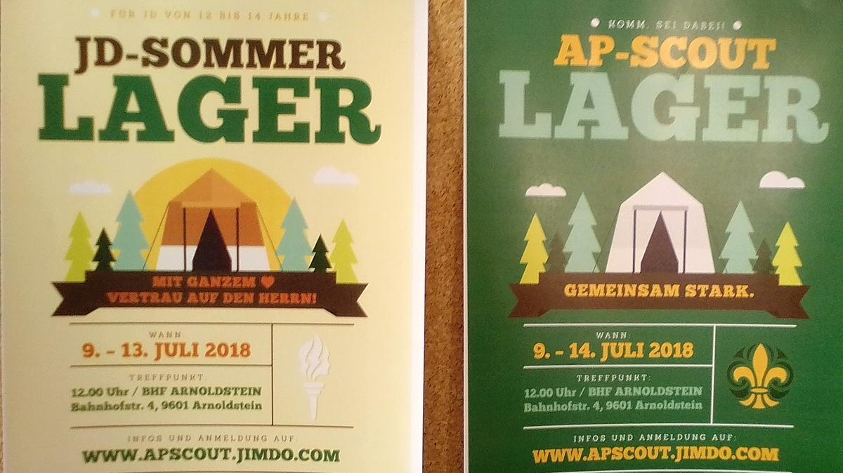 Junge Damen und AP-Scouts des Pfahles Salzburg schlagen vom 9. bis zum 13. bzw. 14. Juli ihre Zelte auf