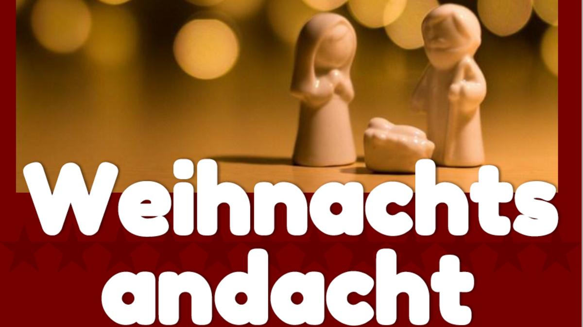 Einladung zur Weihnachtsandacht im Pfahlhaus Wien