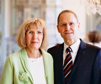Elder Wolfgang Pilz mit seiner Frau Karin