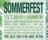 Die Gemeinde Wels lädt zum Sommerfest
