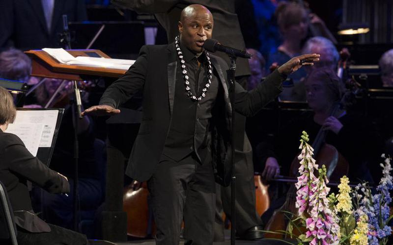 Beim Konzert zu Ehren der Mormonenpioniere, die im Salt Lake Valley am 24. Juli 1847 ankamen, trat auch Alex Boyé als Solist auf.