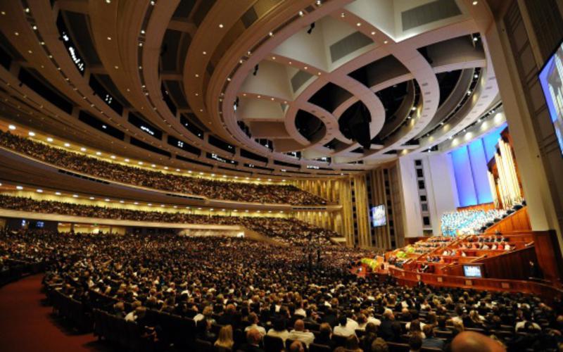 Konferenzzentrum der Kirche in Salt Lake City