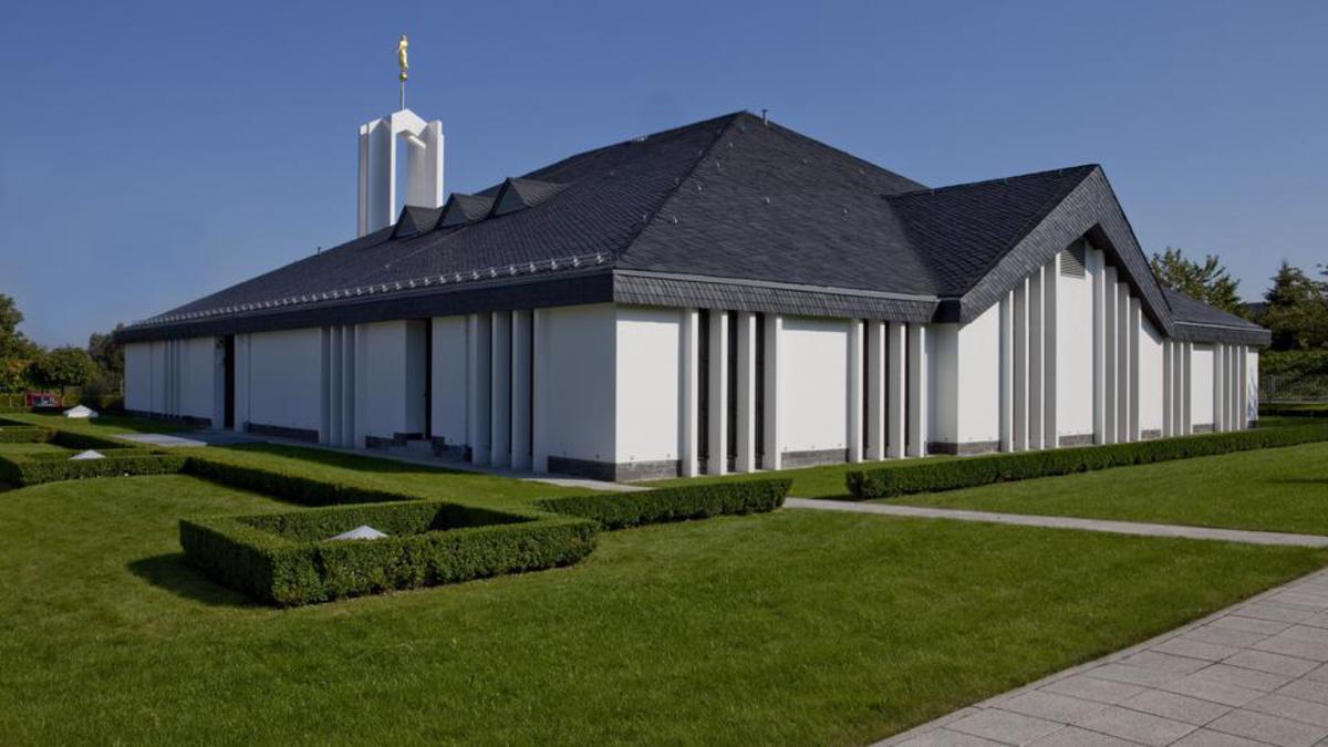 Der Freiberg Tempel in Deutschland.